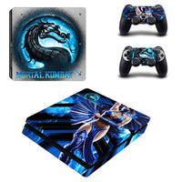 PS4 Slim Mortal Kombat X Vinyl Decal Skin With controller Skins - The Trendinator