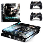PS4 Metal Gear Vinyl Decal Skin With Controller Skins - The Trendinator