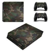 PS4 Camouflage Vinyl Decal Skin With Controller Skins - The Trendinator
