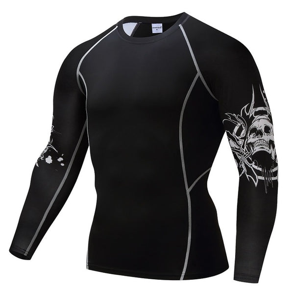 Punisher Breathable Quick Dry Men's Compression Shirt - The Trendinator