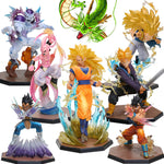 Super Saiyan 3 Majin Buu Vegeta Trunks Son Goku Freezer PVC Action Figures Dragon Ball Z - The Trendinator