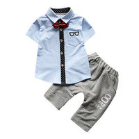 Newborn/Toddler Baby Boy Nerdy 2-Piece Outfit - The Trendinator