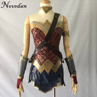 Batman v Superman:Dawn of Justice Wonder Woman Cosplay Costume With Tiara and Cuff Full Set - The Trendinator
