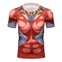 Superhero Workout Compression T-Shirt - The Trendinator