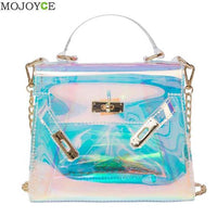 Blue Holographic Handbag - The Trendinator