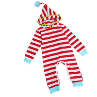 Stripe Baby Rompers Long Sleeve Cotton 6-24 Months - The Trendinator