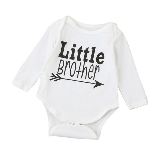 Little Brother Long Sleeve Jumpsuit Romper 3-18 Months - The Trendinator