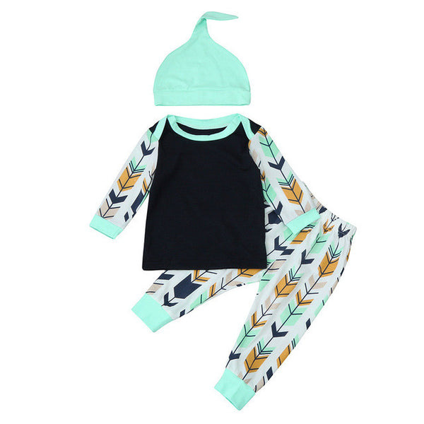 3pcs Newborn Arrow Clothing Set - The Trendinator