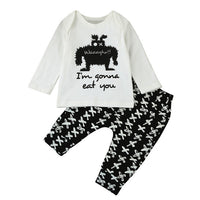 Newborn Baby Boy Cotton 2pcs Outfits Baby Set 6-24M - The Trendinator