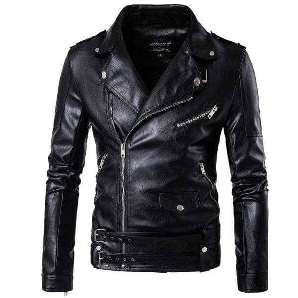 Men's leather jacket - The Trendinator