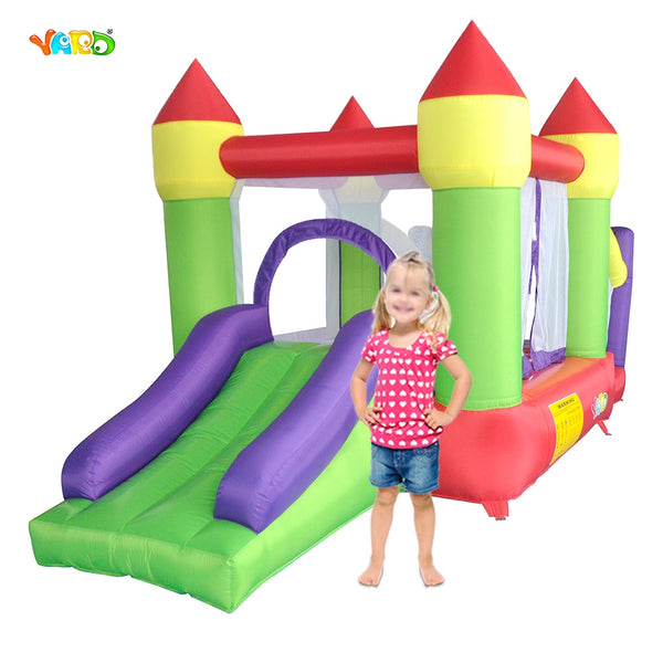 YARD Kids Best Gift Bouncy Castle Outdoor Moonwalk Ball Pit Inflatable Slide Combo Inflatable Castle for Kids Games - The Trendinator