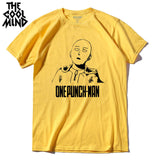 THE COOLMIND 100% cotton ANIME One Punch Man Printed Men's T-Shirt - The Trendinator