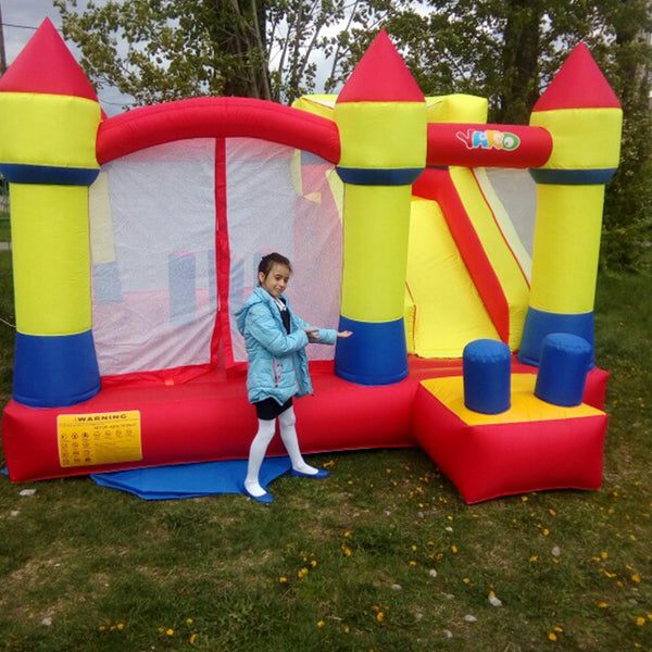 YARD Bounce House Inflatable Bouncy Castle Combo Slide Jump Moonwalk Inflatable Castle Outdoor Large Trampoline - The Trendinator