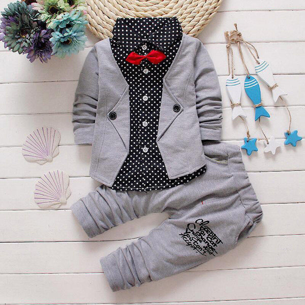 Boy's Formal Party Bow Tie Outfit - The Trendinator
