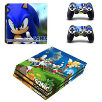 PS4 Pro Sonic Generations Vinyl Decal Skin with Controller Skins - The Trendinator