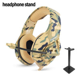 Camouflage Army Green Noise Canceling Gaming Headset - The Trendinator