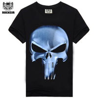Rocksir Punisher T-Shirts For Men - The Trendinator