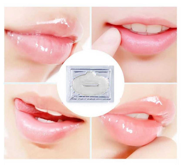 10PCS Gold Collagen Crystal Lip Mask Lip Care