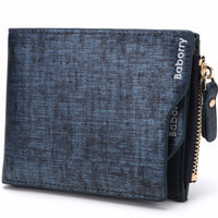 Hot New Men's Wallet With Coin Bag Zipper - The Trendinator