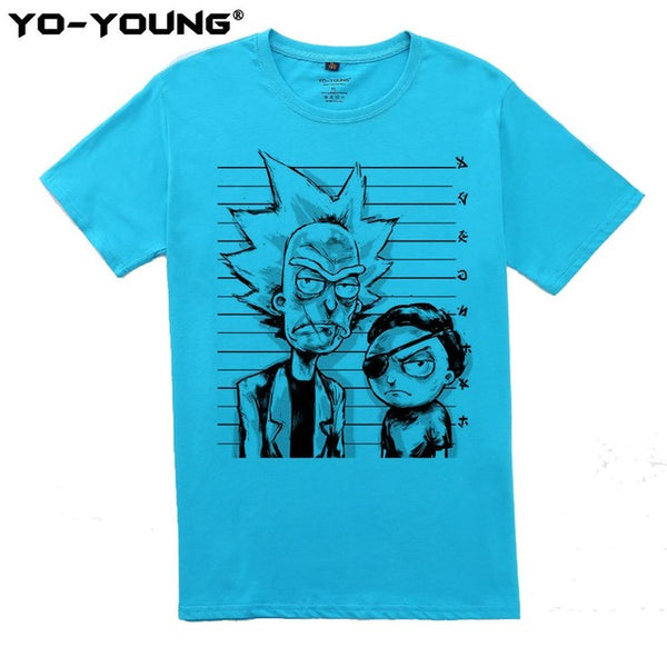 Yo-Young Rick And Morty Men's Premium T-shirt - The Trendinator