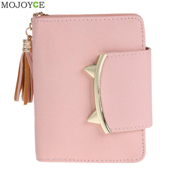 Cute Women's Trifold Leather Wallet - The Trendinator