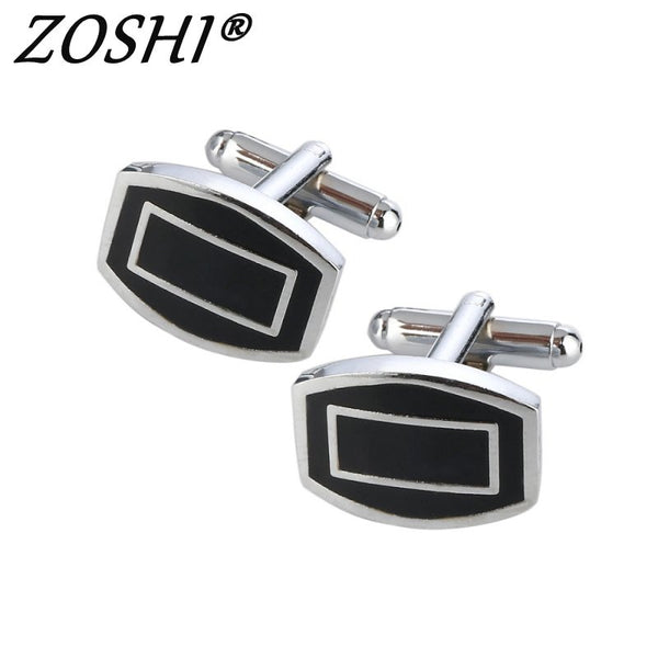 Men's High Quality Black Cuff Links - The Trendinator