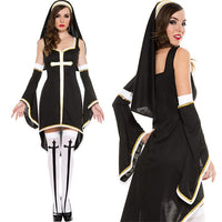 Couples Priest And Nun Costume - The Trendinator