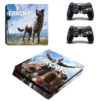 PS4 Farcry 5 Vinyl Decal Skins With Controller Skins - The Trendinator