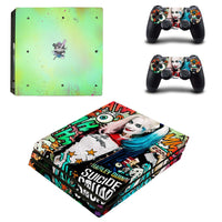 PS4 Suicide Squad Harley Quinn Vinyl Decal Skin With Controller Skins - The Trendinator