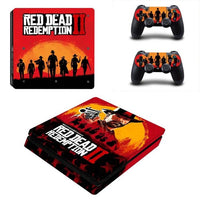 PS4 Red Dead: Redemption II Vinyl Decal Skin With Controller Skins - The Trendinator