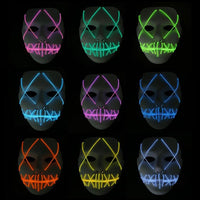 Halloween LED Light Up Mask - The Trendinator