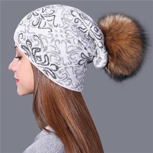 Xthree Wool Knitted Women's Beanie - The Trendinator