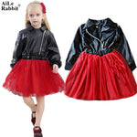 AiLe Rabbit  Girls High Quality Pom Pom Dress - The Trendinator