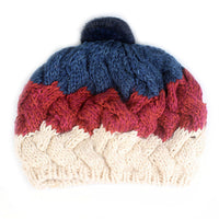 Xthree Women's Knitted Pom Pom Fashion Beanie - The Trendinator