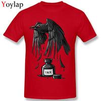 Retro Style Men's Raven T Shirt - The Trendinator