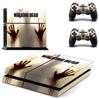 PS4 The Walking Dead Vinyl Decal Skin With Controller Skins - The Trendinator