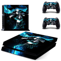 PS4 Hatsune Miku Vinyl Decal Skin With Controller Skins - The Trendinator