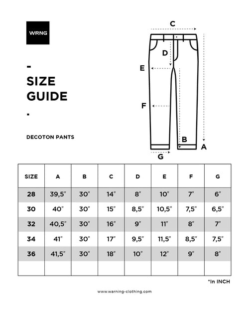 Decoton 1.460 Pants