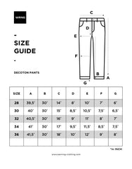 Decoton 1.461 Basic Pants