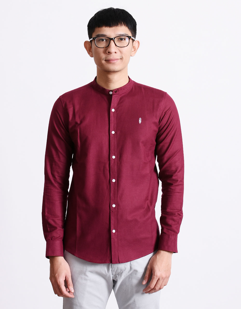 Inelabolate 3 Mandarin Collar Shirt