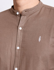 Inelabolate 4 Mandarin Collar Shirt