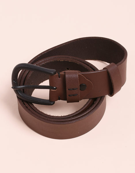 Staple 4 Leather Belt