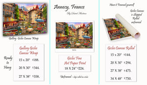 Annecy, France  ________________________ Order Options Here