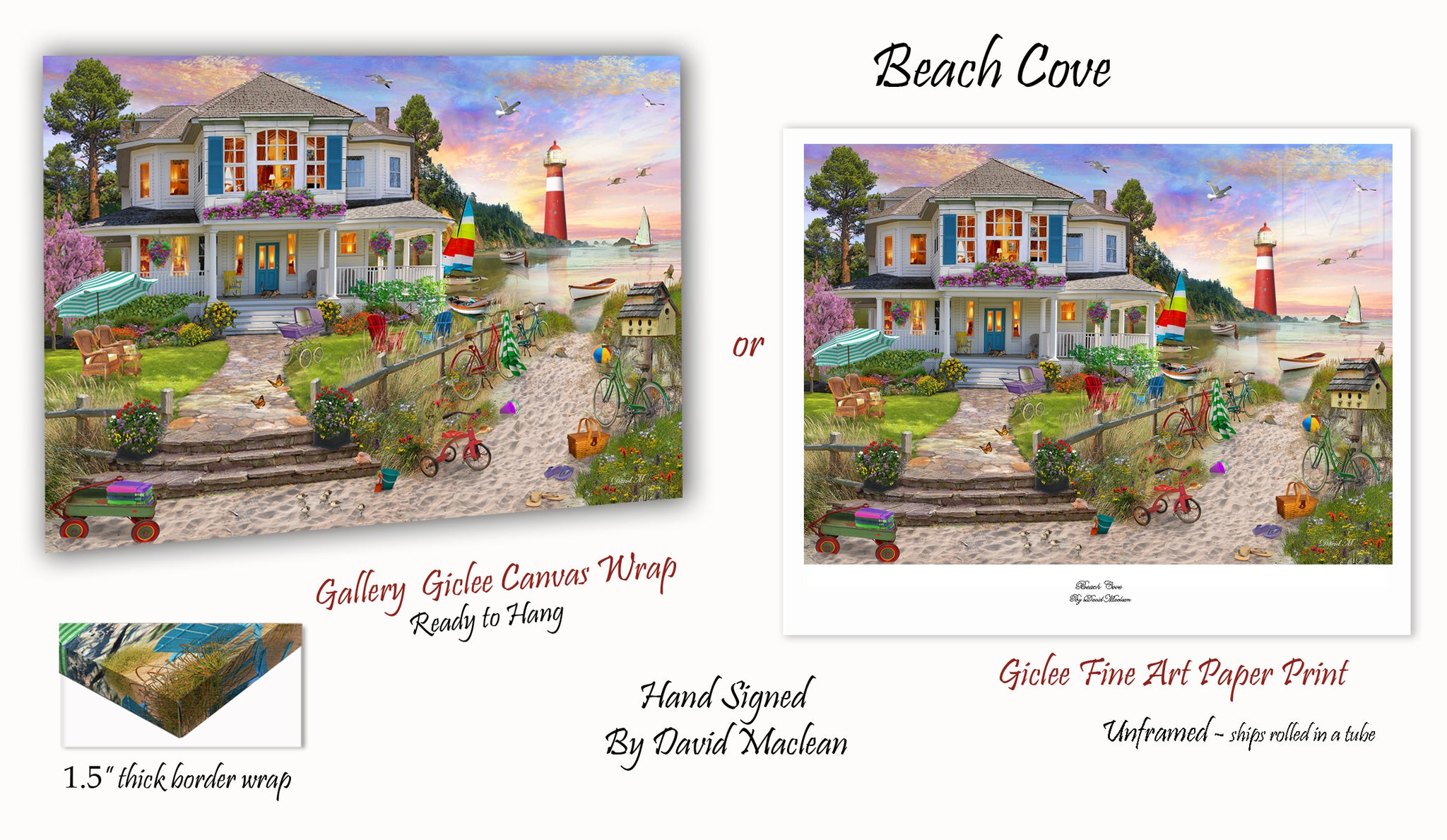 Beach Cove ____________________ Order Options Here