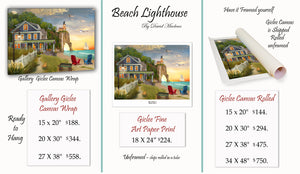 Beach Lighthouse ____________________ Order Options Here