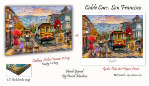 Cable Cars, San Francisco   _____________________    Order Options Here