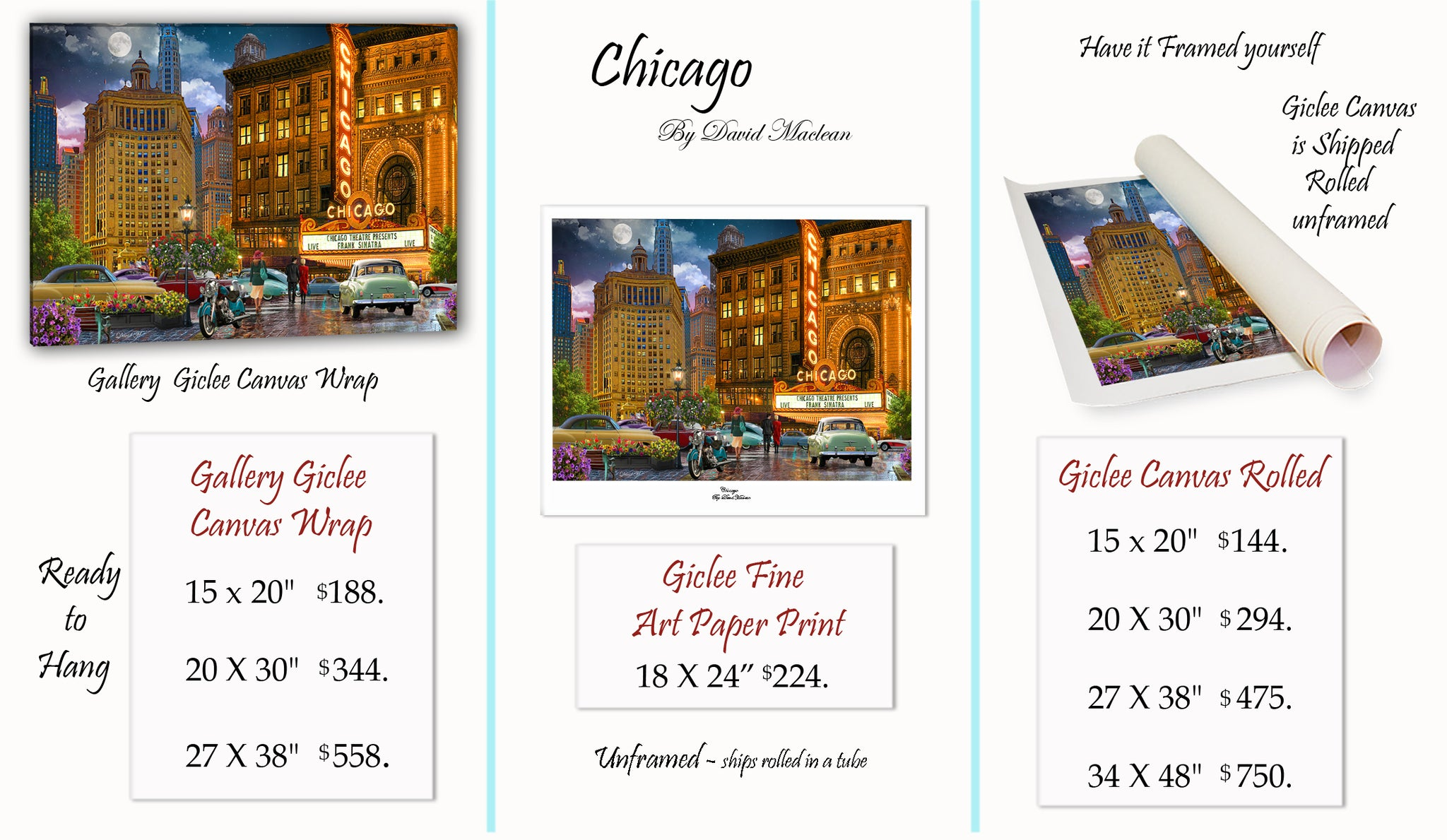 Chicago _____________________ Order Options Here