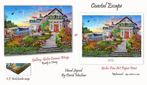 Coastal Escape   ______________________ Order Options Here