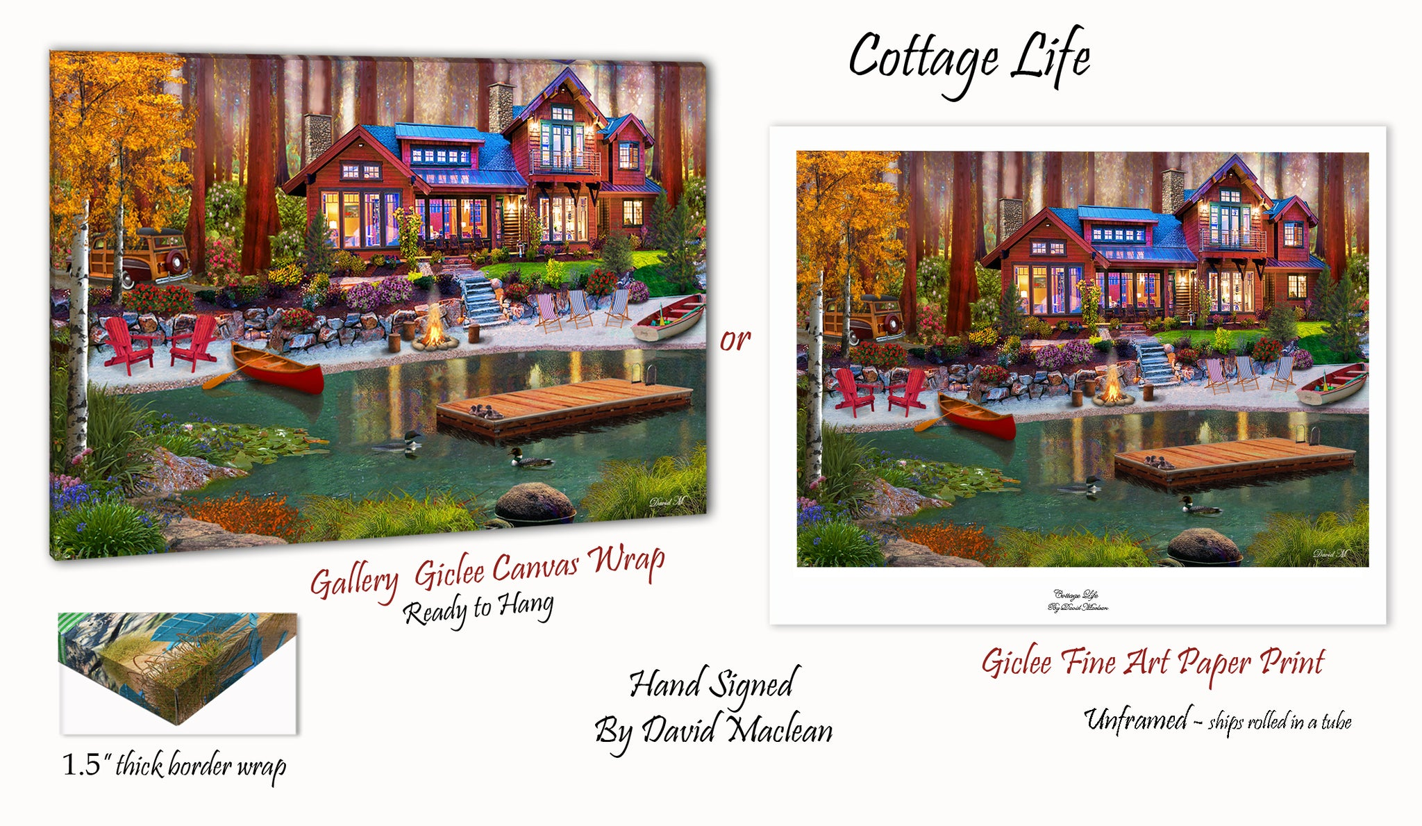 Cottage Life  ________________________ Order Options Here