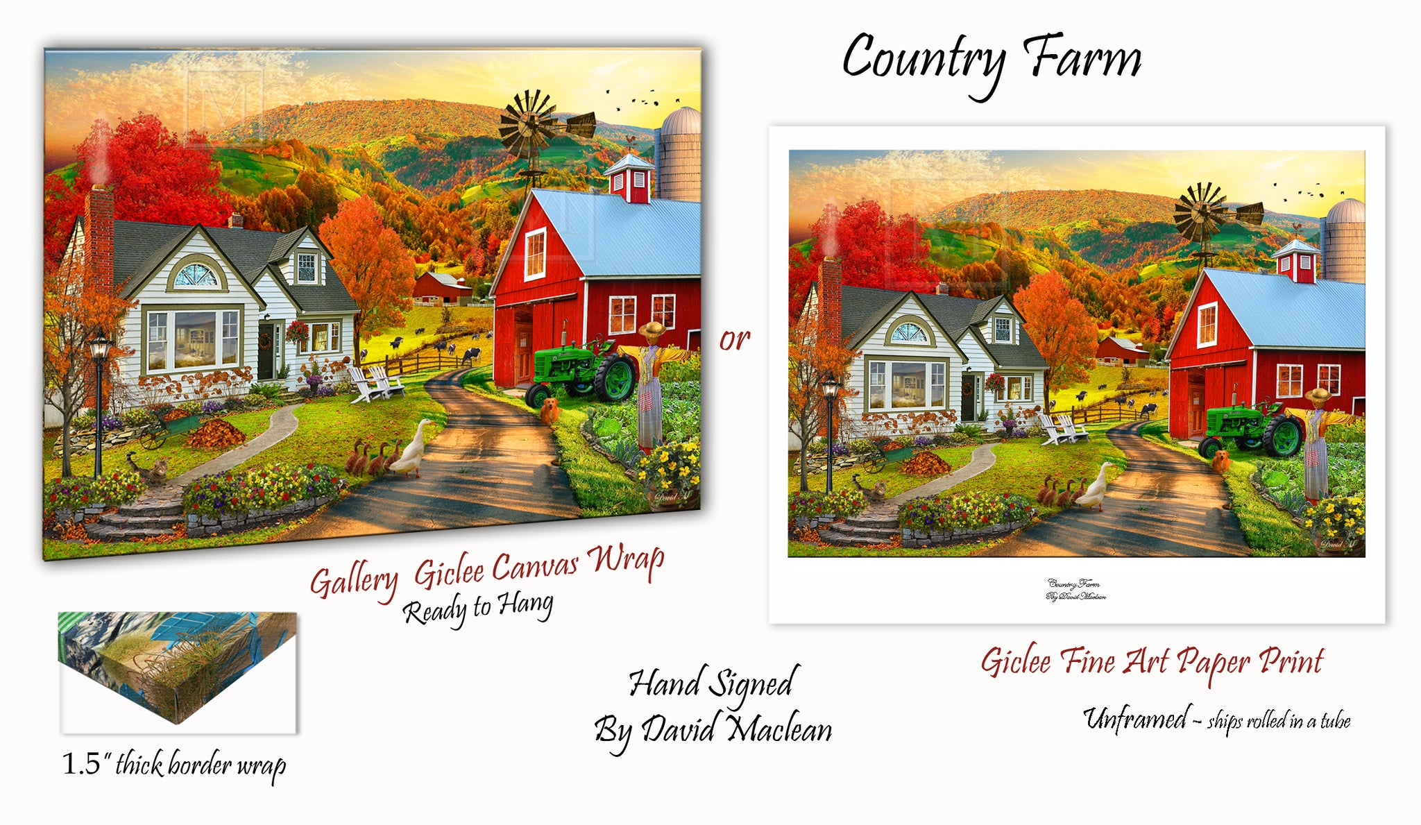 Country Farm  ________________________ Order Options Here